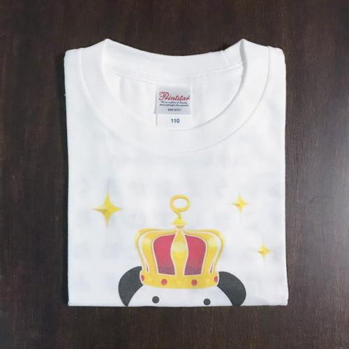 B*サイズ110・130*ズレてもぱんだ ズレぱんだちゃん*Tシャツ_ホワイトCT02
