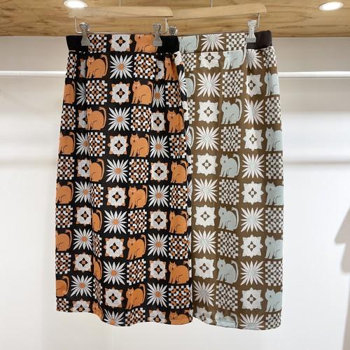 didizizi / ネコとお花JQ スカート