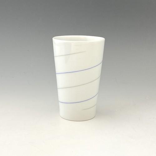 【中尾恭純】線象嵌フリーカップ