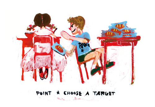 POINT★CHOOSE A TARGET(山本美希)