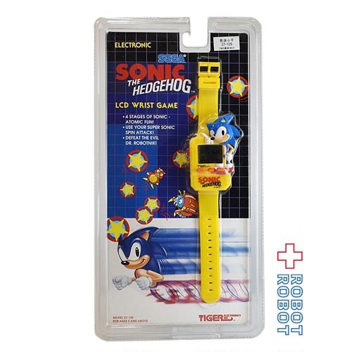 タイガー ソニック・ザ・ヘッジホッグ LCD リストゲーム