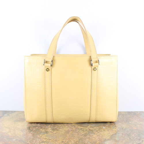 .OLD CELINE LOGO PATTERNED ALL OVER LEATHER HAND BAG MADE IN ITALY/オールドセリーヌロゴ総柄レザーハンドバッグ 2000000047928