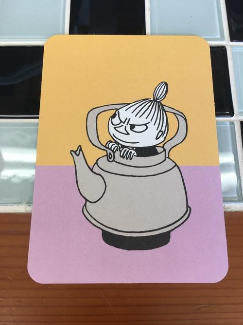 ムーミンポストカード「リトルミィ」