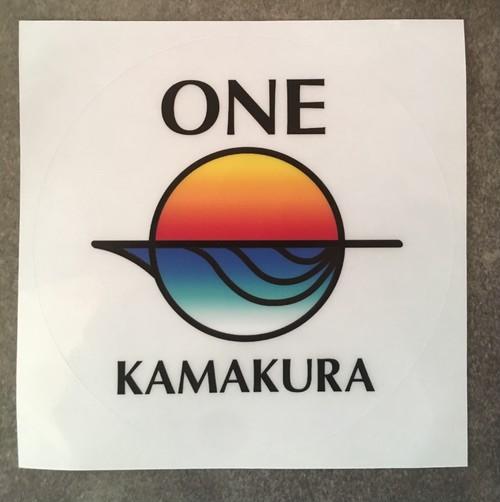 ONE KAMAKURAステッカー
