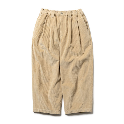 TIGHTBOOTH CORD BAGGY PANTS Beige L