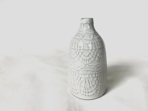 陶器 花器(Doily)  S
