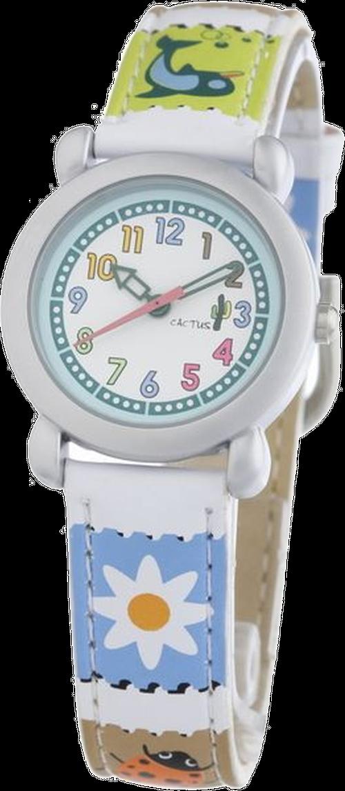 スタッフお薦め[キッズ腕時計]ホワイト マルチデザイン CAC-33-L04