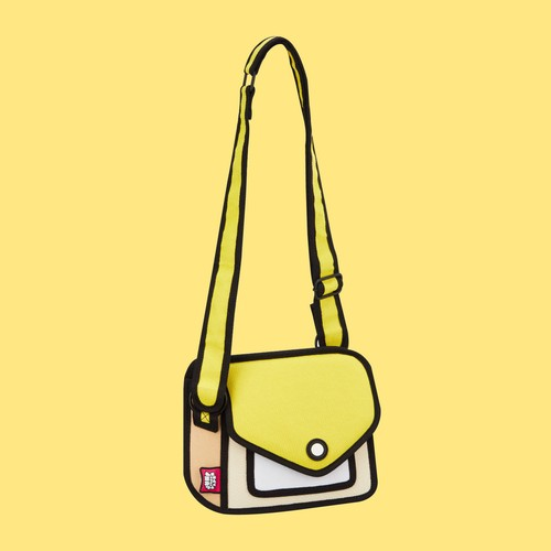 【Jump From Paper】JFP166 ショルダーバッグ(小)イエロー Color Me In Collection / Junior Giggle Shoulder Bag 正規輸入品