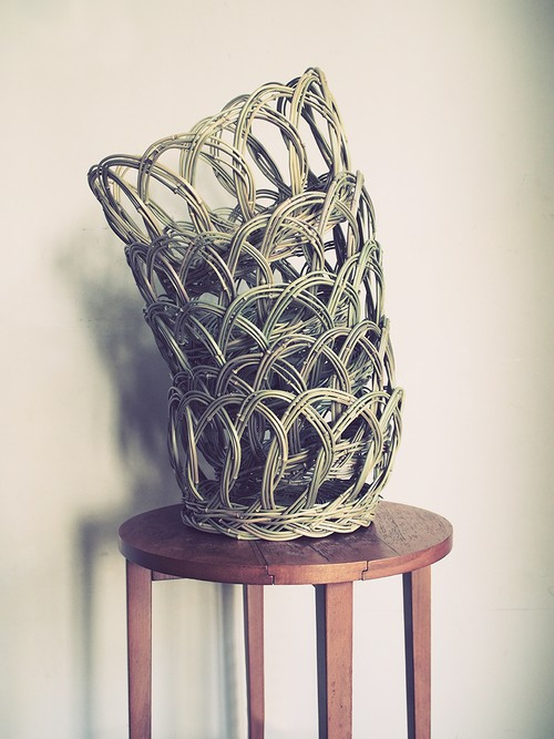 """BETH"" Wicker Basket"