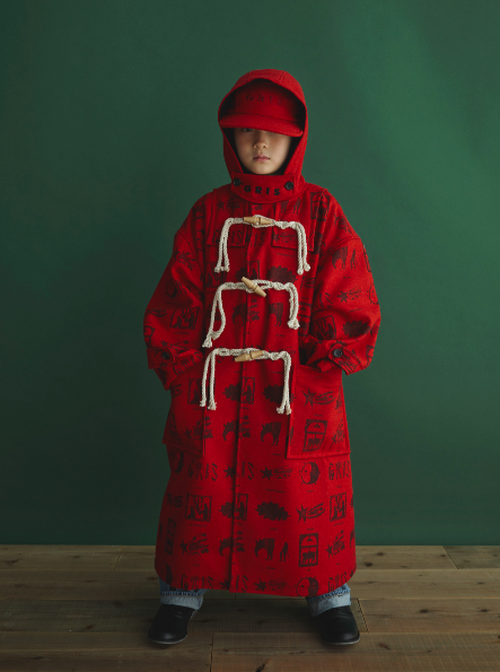 GRIS(グリ) / Duffle Coat / Cherry / M,L