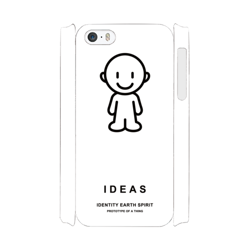 IDEAS/iPhone5/5s/SEケース 801-ホワイト
