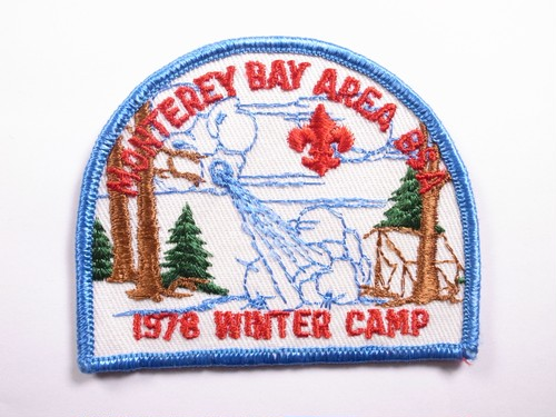 "OLD PATCH""MONTEREY BAY AREA BSA"""