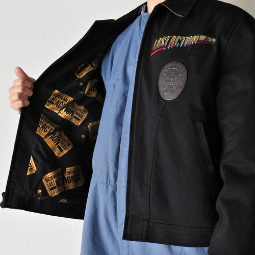 "Vintage ""LAST ACTION HERO"" TONY NOWAK original Jacket"