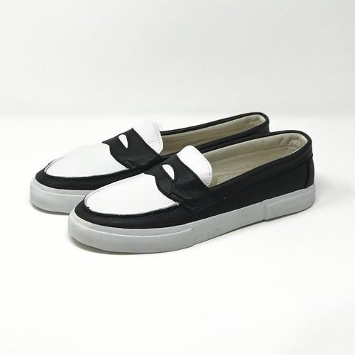 ローファー loafers<WHITE/BLACK>の商品画像2
