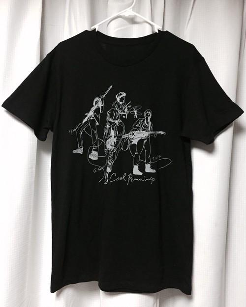 【30%OFF】クルランメンバープリントTシャツ