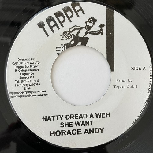 Horace Andy - Natty Dread A Weh She Want【7-20779】