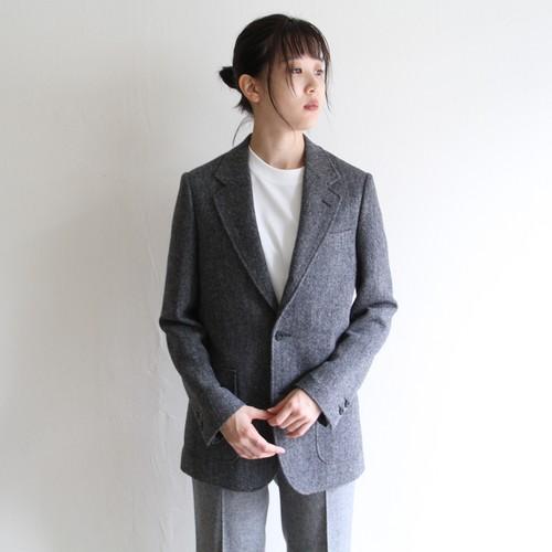 UNION LAUNCH【 womens 】herringbone tweed 3b jacket
