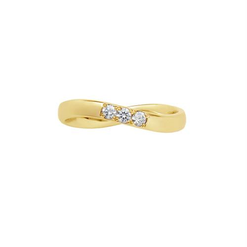 [約1ヶ月でお届け]レディース 2.6mm幅 K18 結婚指輪 OCTAVE∞Cercle~輪~「終わりのない無限の輪 時を超えても変わらない永遠∞の絆」