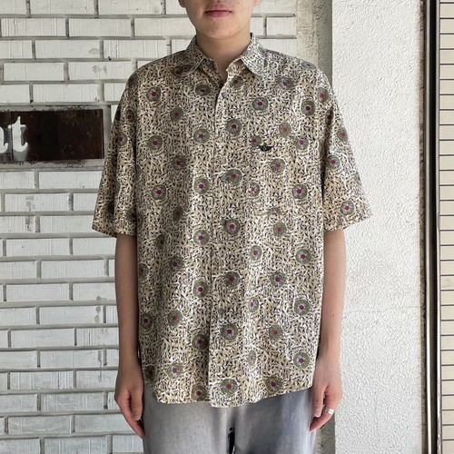 USED DOCKERS COTTON S/S SHIRT