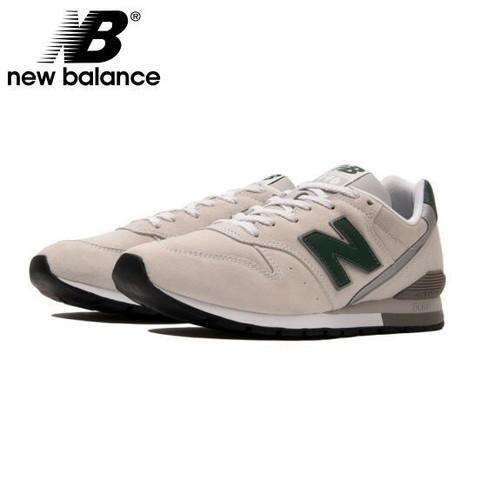 ニューバランス 996 スニーカー CM996 ホワイト 新作 NEW BALANCE CM996PSW OFF WHITE/GREEN