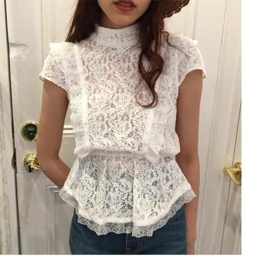 VB-087 (lace apron blouse)
