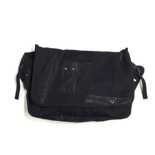 Vintage Messenger Bag black 【messenger07】