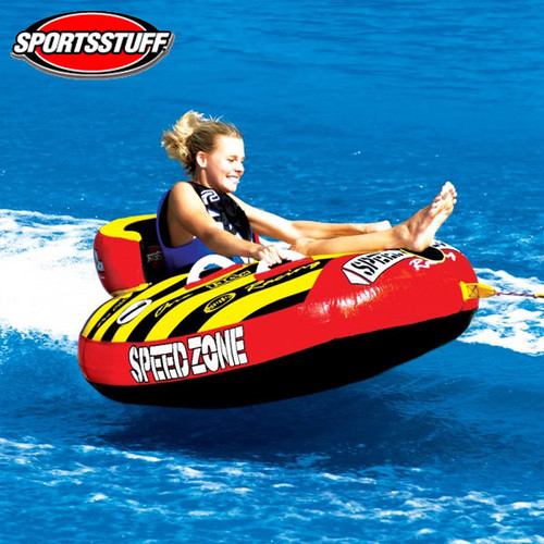 SPORTSSTUFF(スポーツスタッフ) スピードゾーン1 SPEEDZONE 1人乗りトーイングチューブ