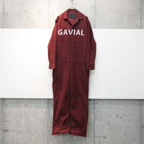 L/S JUMPSUIT (WINE) / GAVIAL