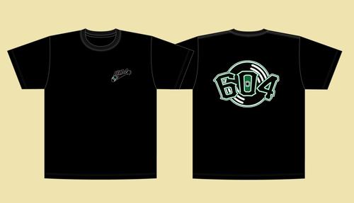 "604 ""Record Attack"" T-Shirt (Black)"
