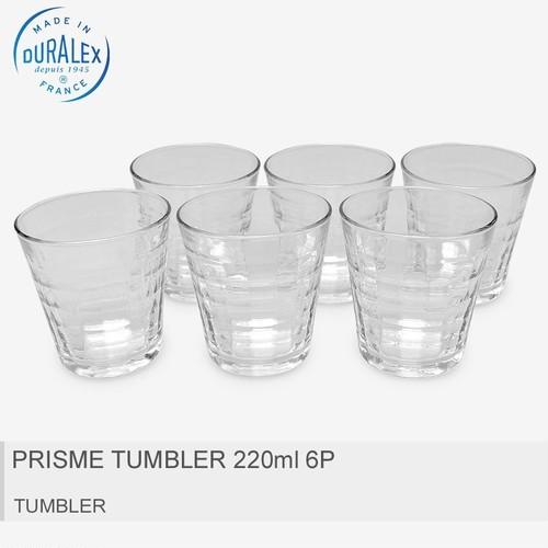 【デュラレックス】  PRISME TUMBLER 6P 220ml 6個セット