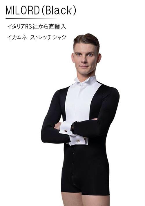 Milord(ブラック)(ストレッチイカ胸シャツ)