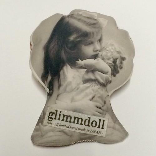 Ambivalent./glimmdoll 転写ブローチ〔L〕-a