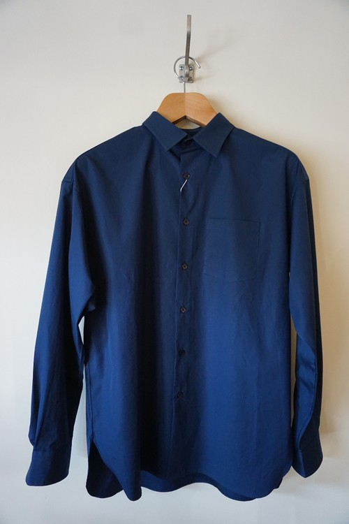 BIG REGULAR COLLAR SHIRT [NAVY]