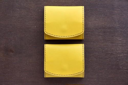バナナカラー Box Coin Case/ボックス型コインカードケース