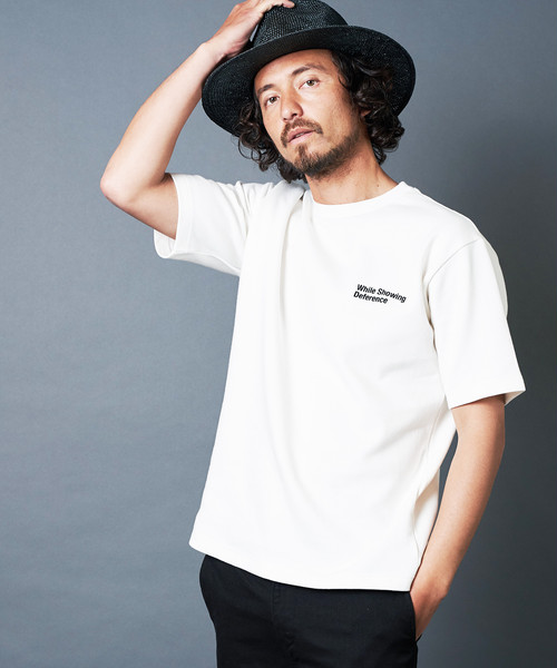 """""""While Showing Deference"""" W KNIT TEE S/S"""