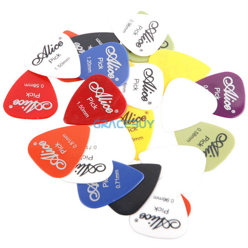30pcs Bass Guitar Picks Alice Multi Smooth ABS Custom Acoustic  Electric Guitarra Plectrums Accessories Musical Instrument  Puas
