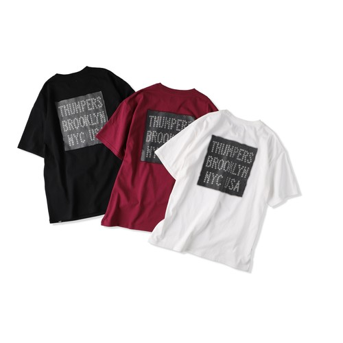 LEATHER PATCH LOGO S/S TEE [TH1A-8-6]