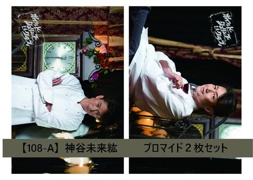 【108】神谷未来紘 -ハガキサイズ ブロマイドセット 2枚組-