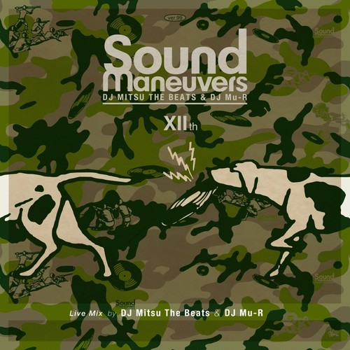【ラスト1/CD】Sound Maneuvers (DJ Mitsu The Beats & DJ Mu-R) -12th Anniversary Mix