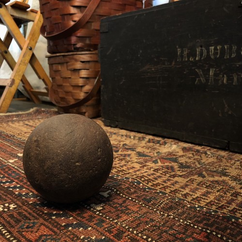 Vintage Wooden Ball