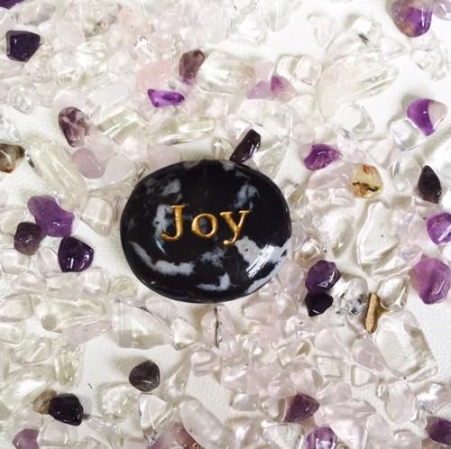 スノーフレークオブシディアン Joy デザイン原石