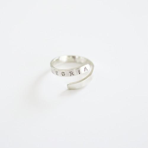 plain ring <silver950>