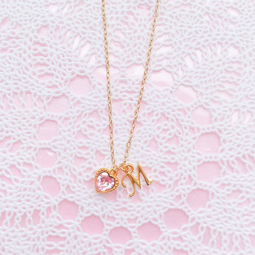 LOVE for...♡NECKLACE【イニシャル collection】