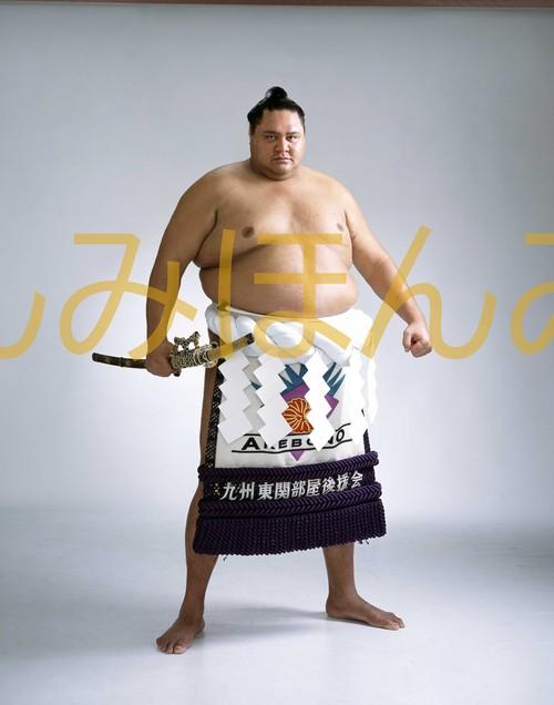 平成12年11月場所優勝 横綱 曙太郎関(11回目最後の優勝)