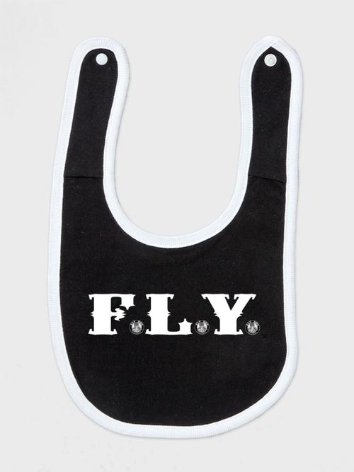 F.L.Y. よだれかけ (BLK)