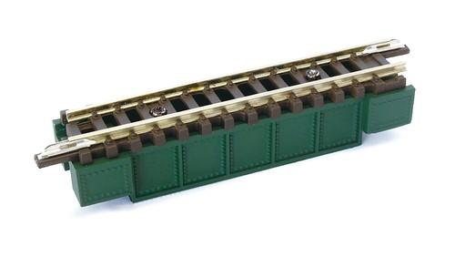 R086 デッキガーダー鉄橋(短) 緑