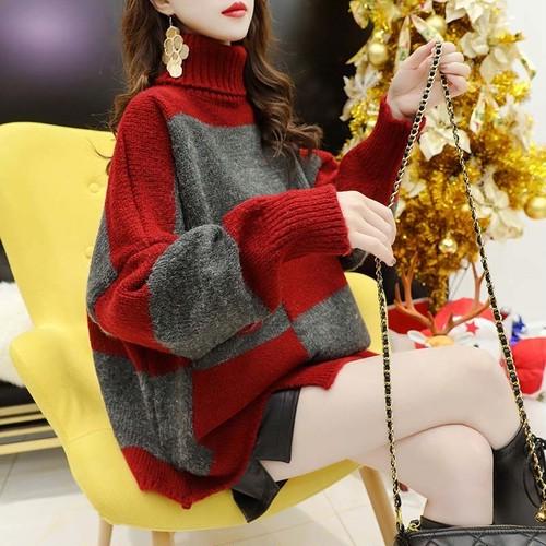 着回し力抜群 アバンギャルド フェミニン 大注目 清新 韓国ファッション 綺麗系服 人気 ニット・セーター・トップス