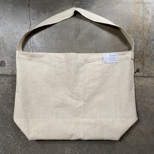 CLO 1way totebag / vintage linen fabric