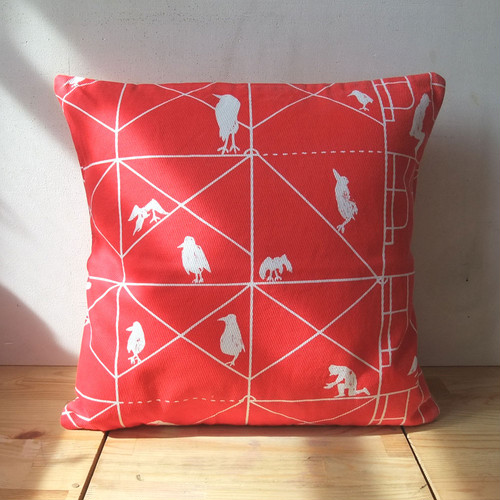 Scaffolding cushion cover 40x40cm