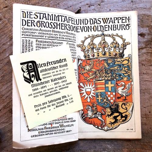 ミュンヘンカレンダー1905
